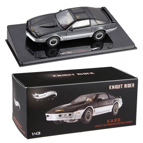 Knight Rider K.A.R.R. Hot Wheels Elite 1 43 Scale Vehicle