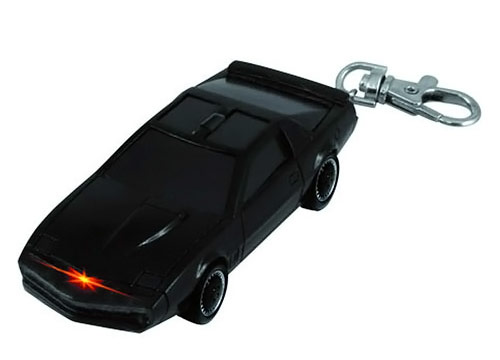 Knight Rider KITT Light Key Chain