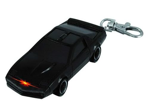 Knight Rider KITT Light Key Chain