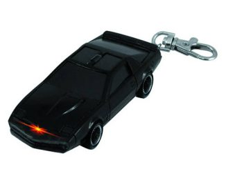 Knight Rider KITT Light Up Key Chain
