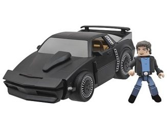Knight Rider KITT Super Pursuit Mode Minimates Vehicle