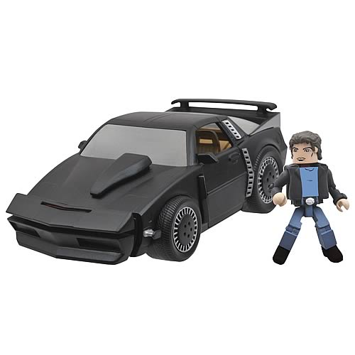 Knight Rider KITT Super Pursuit Mode Minimates Vehicle