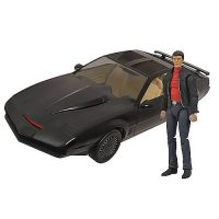 Knight Rider KITT Vehicle with Michael Knight Action Figure