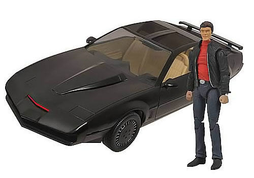 Knight Rider KITT with Michael Knight