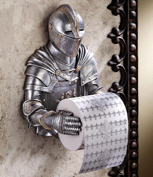 Knight Toilet Paper Holder