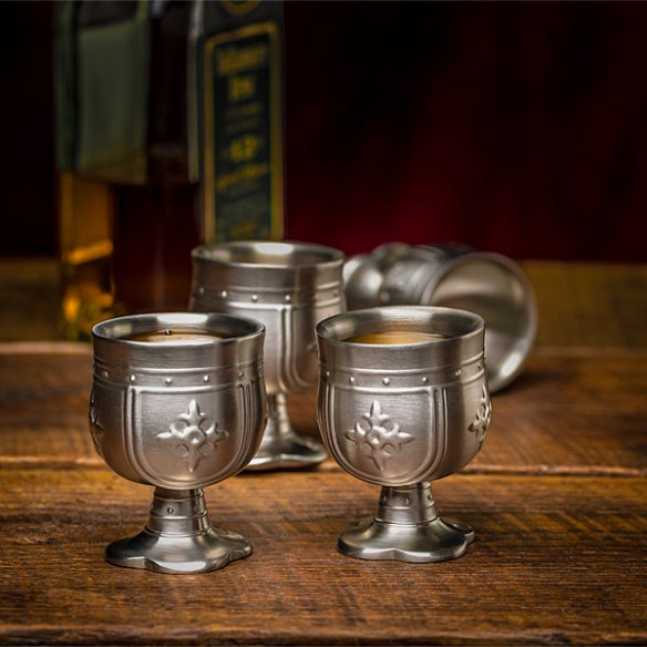 Knight's Shot Glass Set