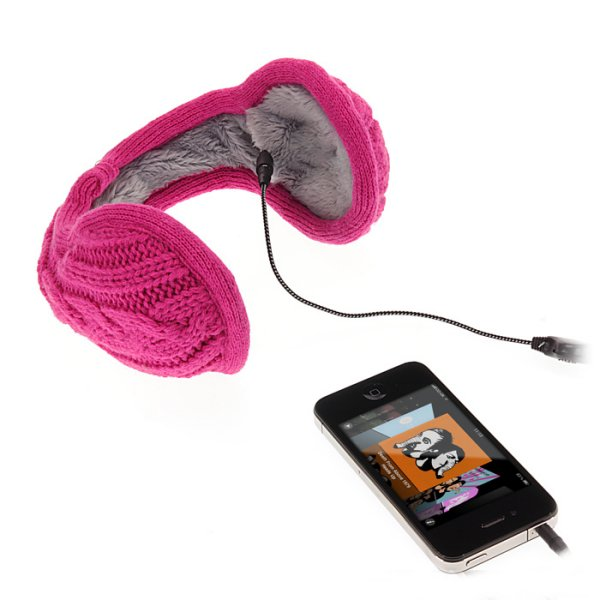 Knitted Headphone Earmuffs
