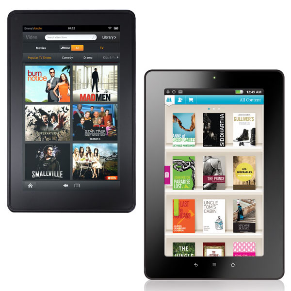 Kobo Vox vs Kindle Fire