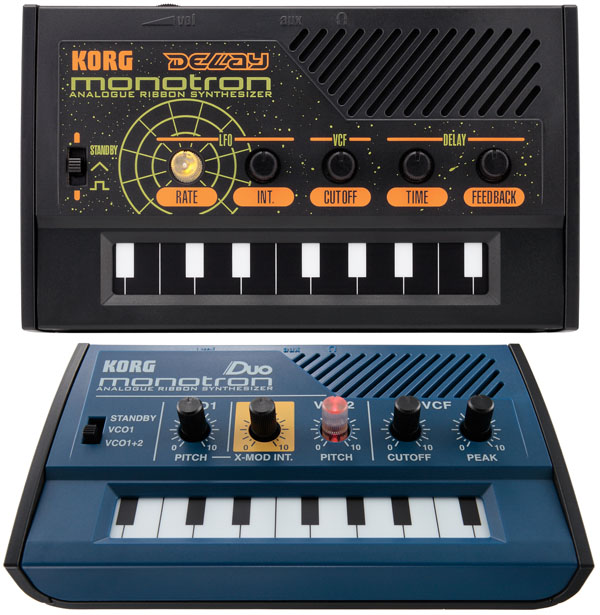 Korg: Monotron Duo and Delay