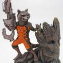 Kotobukiya ARTFX Statue Rocket Racoon and Groot