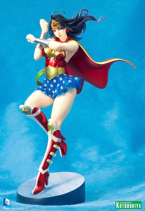 Kotobukiya Bishoujo DC Comics Armored Wonder Woman Statue