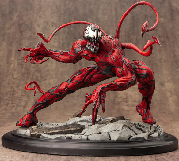 Kotobukiya Fine Art Statue Spider-Man Maximum Carnage