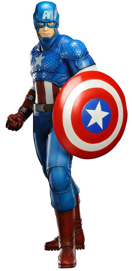 Kotobukiya Marvel Comics Captain America Now Artfx Statue