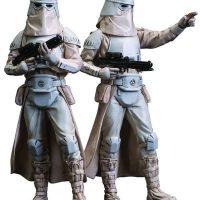 Kotobukiya Star Wars Snowtrooper ArtFX+ Statue 2-Pack