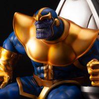 Kotobukiya Thanos on Space Throne Fine Art Statue