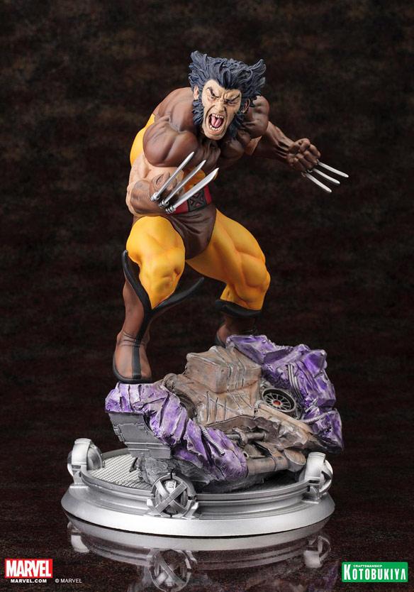 Kotobukiya Wolverine Brown Costume Statue