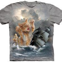 Krakitten Kitten Kraken T-Shirt