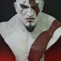 Kratos Life Size Bust