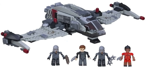 KreO Klingon Bird of Prey Set