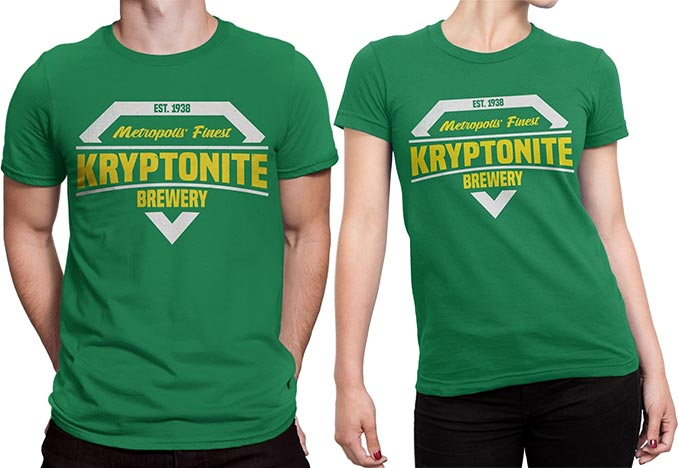Kryptonite Brewery T-Shirts