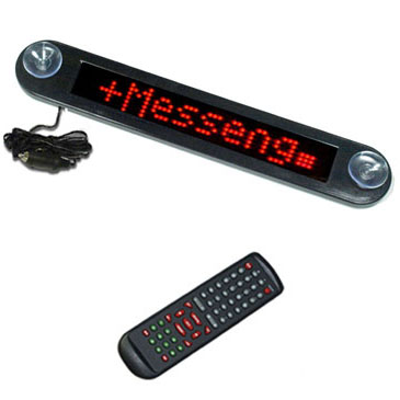 LED Car Display with Remote