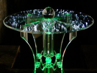 LED Fibre-Optics Table
