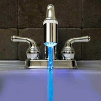 LED Kitchen Sink Faucet Sprayer Nozzle