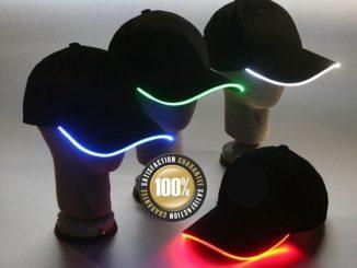 LED Side Glow Hats