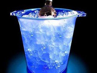 LED Sound Sensitive Ice Bucket