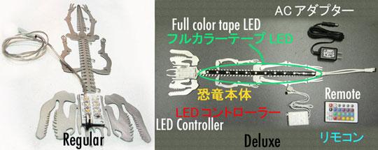 LEDSAUR Dinosaur LED Lamp