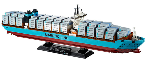 LEGO 10241 Maersk Line Triple E Container Vessel