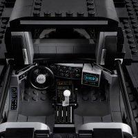 LEGO 1989 Batmobile Detailed Cockpit