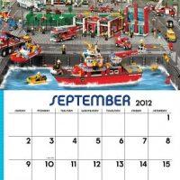 LEGO 2012 Calendar