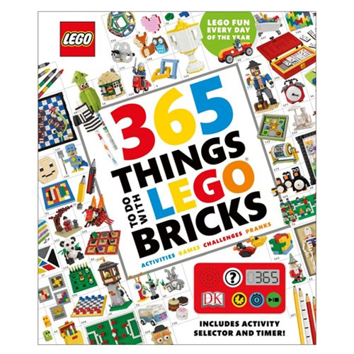 LEGO 365 Things to Do with LEGO Bricks Hardcover Book