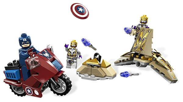 LEGO Captain America's Avenging Cycle #6865