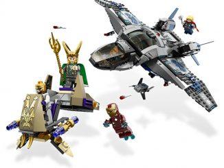 LEGO Quinjet Aerial Battle #6869