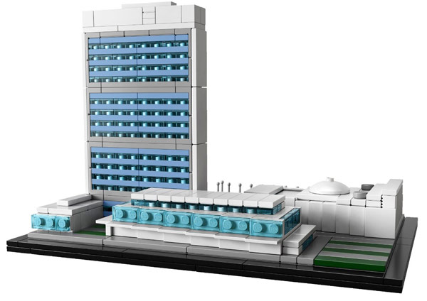 LEGO Architecture United Nations Headquarters Set 21018