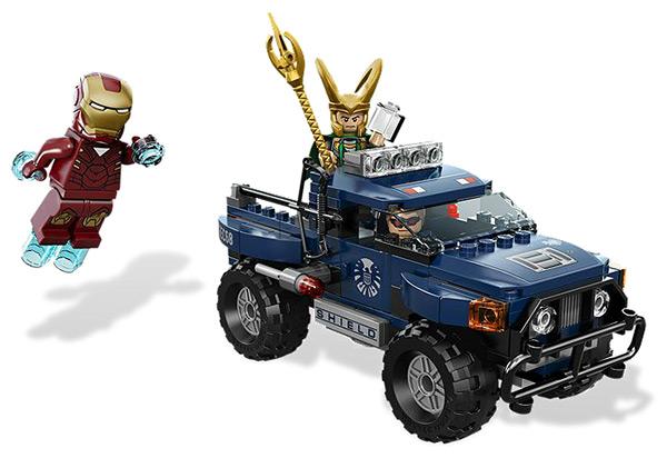 LEGO Avengers Loki's Cosmic Cube Escape