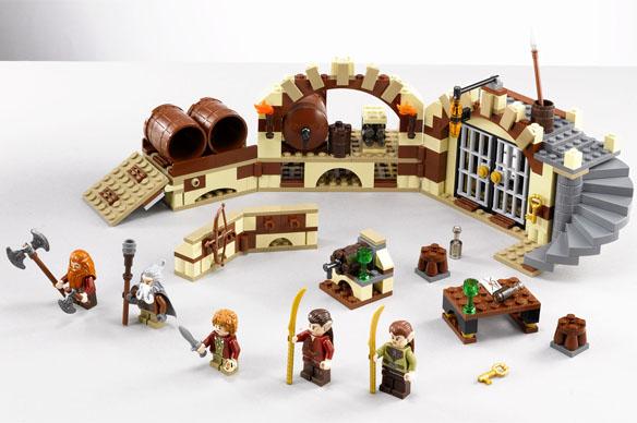 LEGO Barrel Escape 79004