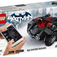 LEGO Batman App Controlled Batmobile Box