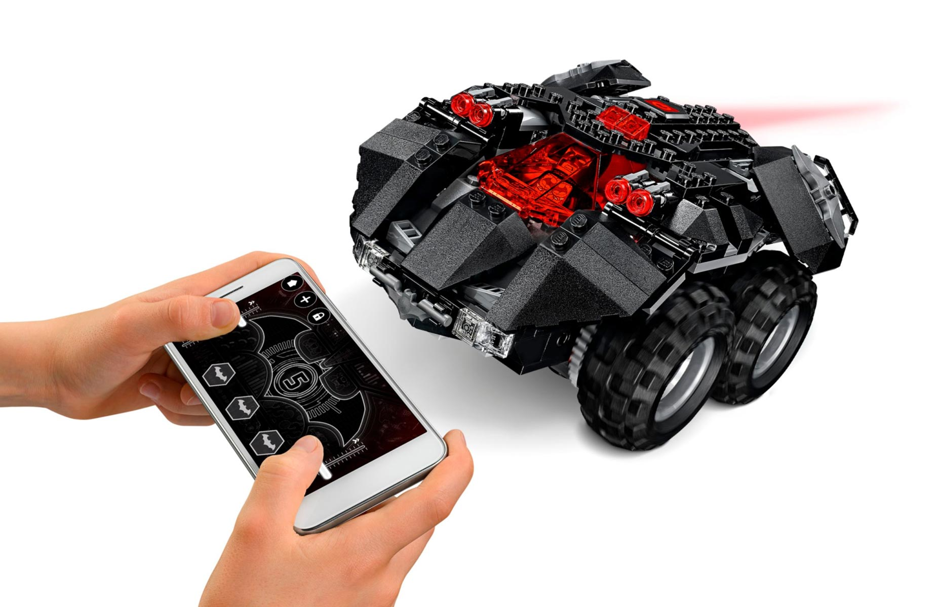 lego batman app controlled batmobile 76112 geekalerts. Black Bedroom Furniture Sets. Home Design Ideas