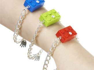 LEGO Block Bracelet
