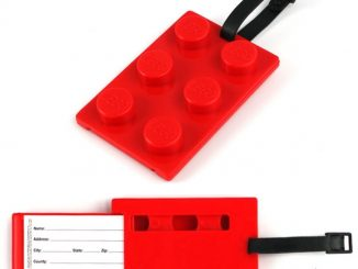 LEGO Brick Luggage Tag