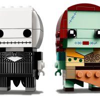 LEGO BrickHeadz Jack Skellington Sally 41630