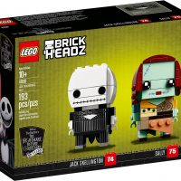 LEGO BrickHeadz Jack Skellington & Sally #41630 Box