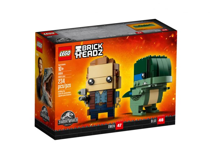 LEGO BrickHeadz Jurassic World Owen and Blue
