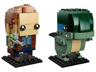 LEGO BrickHeadz Jurassic World Owen and Blue Set 41614