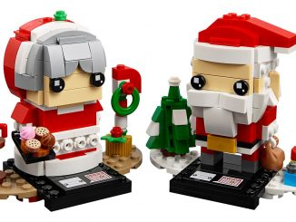 LEGO BrickHeadz Mr. & Mrs. Claus