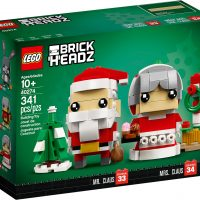 LEGO BrickHeadz Mr Mrs Claus 40274 Box