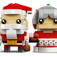 LEGO BrickHeadz Mr. & Mrs. Santa Claus